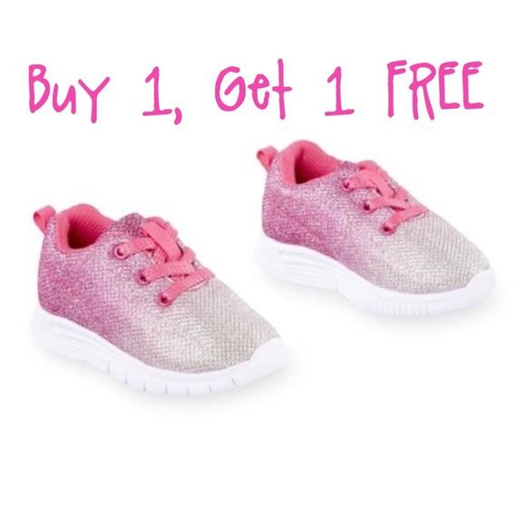 a83ca60d52b Koala Kids pink glitter ombré sneakers, BOGO FREE